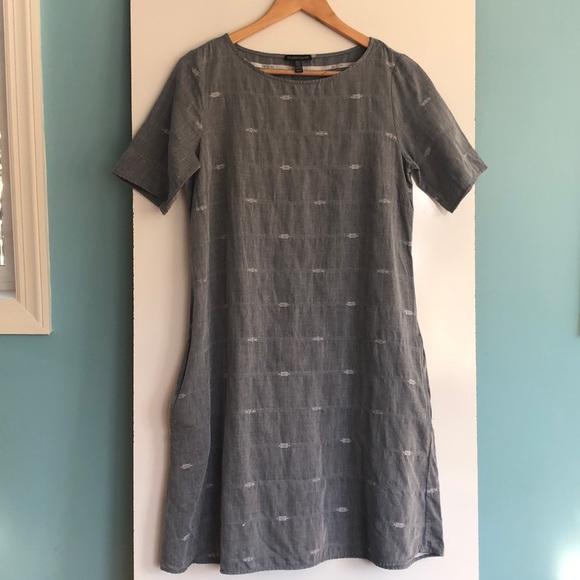 Eileen Fisher Dresses & Skirts - Eileen Fisher Aztec Print Cotton Midi Dress